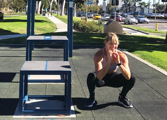 Squat Step-Over