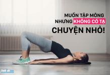 15 bài tập mông cho nữ tại nhà không cần tạ cho cặp mông căng tròn