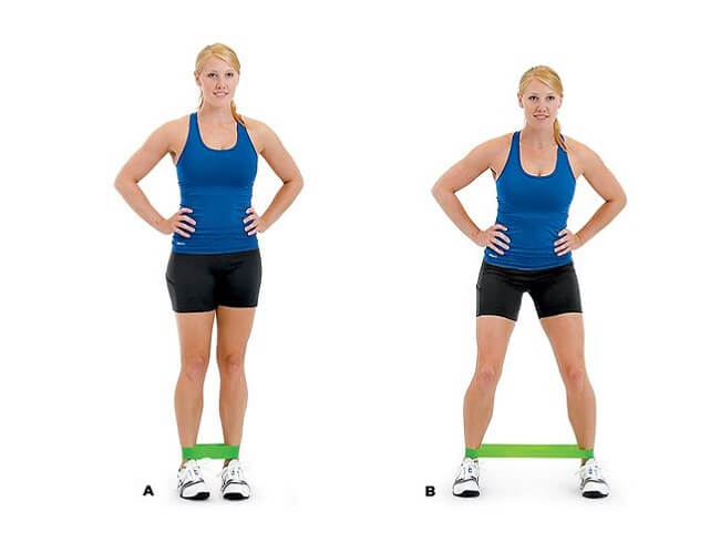 Lateral Band Steps