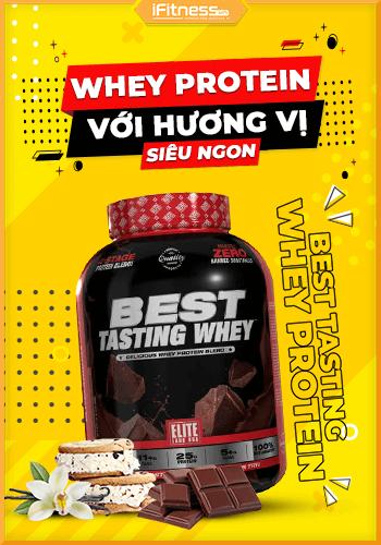 Sữa Tăng Cơ Best Tasting Whey Protein 2.27kg 3 Mùi