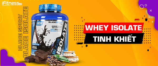 Sữa Tăng Cơ Blade Sport Whey Protein Isolate 2kg - 3 Mùi