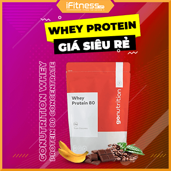 Sữa Tăng Cơ GoNutrition Whey Protein 80 Concentrate - 1kg - 2 Mùi