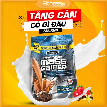 Premium Mass Gainer 12lbs (5.44kg) - Sữa Tăng Cân MuscleTech