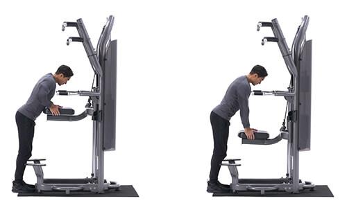 Bài tập cơ tam đầu Machine Triceps Press-Down