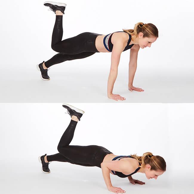 Bài tập lưng Pilates Press